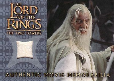 Lord of the Rings The Two Towers Gandalf's Silk Shirt Costume Card LotR