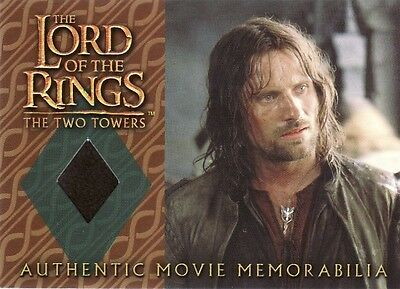 Lord of the Rings The Two Towers Aragorn's Travel Coat Costume Card LotR