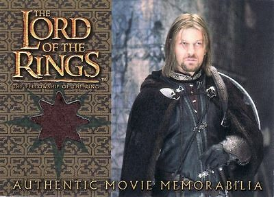 Lord of the Rings Fellowship of the Ring Boromir's Cloak Costume Card LotR