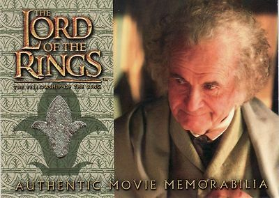 Lord of the Rings Fellowship of the Ring Bilbo's Waistcoat Costume Card LotR