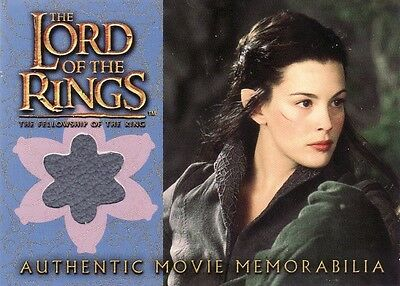 Lord of the Rings Fellowship of the Ring Arwen's Riding Outfit Costume Card LotR