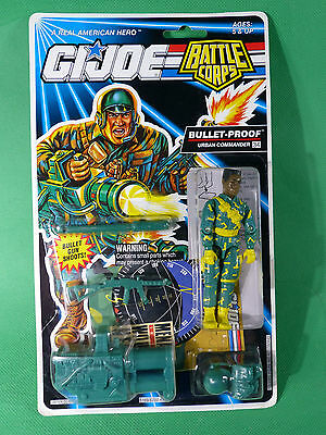 GI Joe Battle Corps Bullet-Proof   Action Figure 1992   MOSC NOS