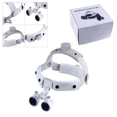 3.5X420mm Headband Surgical Medical Binocular Loupes Dental Lab Equipment DY-108