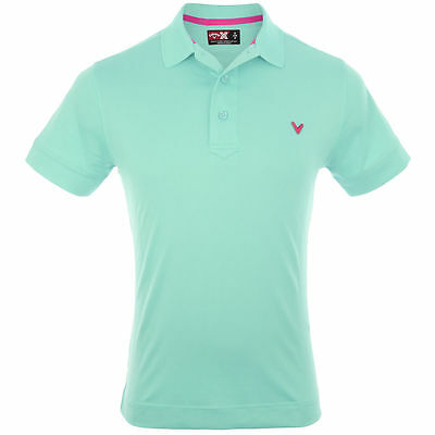 Callaway X Series BLUE TINT Polo Shirt Clearance RRP£40 - S OR M - FREE POST