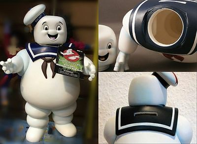 Movie Ghostbusters Stay Puft 11″Marshmallow Man Money box Bank Sailor Figure Toy