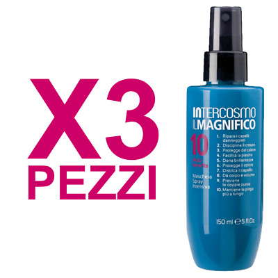 Kit Il Magnifico 10 Spray 3 Pezzi X 150ml INTERCOSMO SPRAY CAPELLI