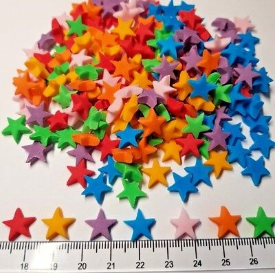 100x Edible Stars, Cake Topper Cupcake BirthdayParty  Sprinkles Icing Decoration