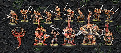 Hordes MK3 - Skorne Miniaturen aus Two Players Battle Box - Neuware