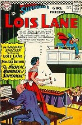 Lois Lane (Vol 1) Supermans Girl Friend #  65 Fine (FN) DC Comics SILVER AGE