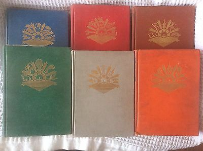 1950's THE MODERN CHILDREN'S LIBRARY OF KNOWLEDGE - BOOKS 1 - 6