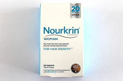 Nourkrin Woman Hair Nutrition Programme - 60 Tablets 1 Month Supply