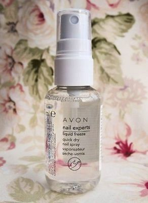 AVON Nail Experts Liquid FREEZE Quick DRY Nail Spray Dries Nails In 30 Sec 50ml