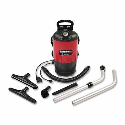 Sanitaire Quiet Clean Lightweight Backpack Vacuum Cleaner SC412A