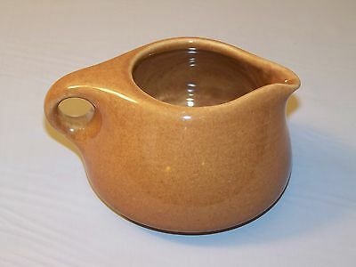 Russel Wright Iroquois Casual China Ripe Apricot Creamer - Excellent Condition