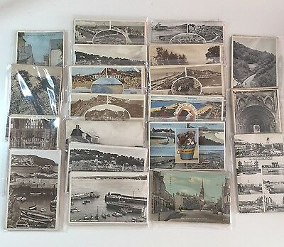 Multi Pack: 10 Vintage Postcards: 1950s Topographical British