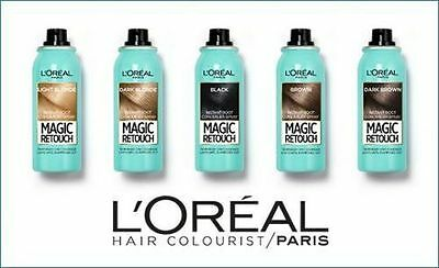 L'Oreal Paris Magic Retouch Instant Root Concealer Spray Temporary Coverage 75ml