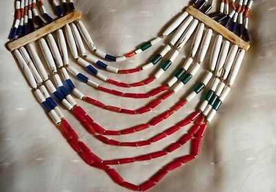 242 Antique Large Naga Angami (?) Heirloom Necklace tribal Jewelry
