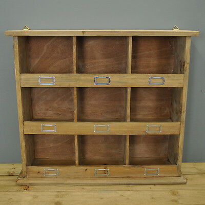 Chedworth Wooden Shelving Wall Storage  Unit by Garden Trading