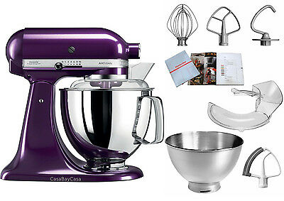 kitchenaid artisan pflaume k chenmaschine 300 watt. Black Bedroom Furniture Sets. Home Design Ideas