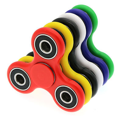 3D Fidget Finger Hand Tri Spinner EDC Ceramic Bearing Stress Relief ADHD Toys UK