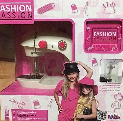 Fashion Passion Kids Childrens Sewing Machine By Klein New But Damaged Box