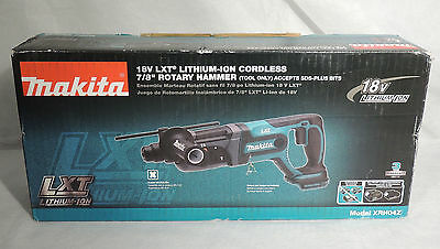 Makita XRH04Z 18V LXT Lithium-Ion Cordless 7/8-Inch Rotary Hammer