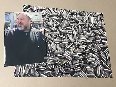 AI WEIWEI 艾未未  Chinese artist In-person signed  photograph  10 x 8 autograph
