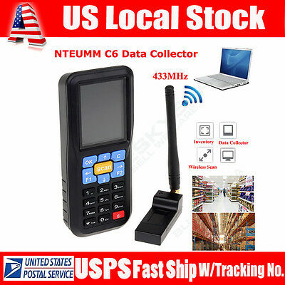 NTEUMM C6 Wireless USB Barcode Laser Scanner Terminal Inventory Data Collector