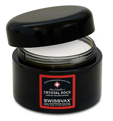 SWIZÖL SWISSVAX Paul Dalton's Crystal Rock 50 ml + 2 x FREE Applicator Pad's