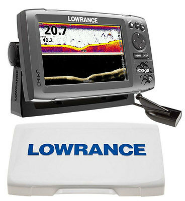 Kit Lowrance Hook-7x Fishfinder Chartplotter with Downscan Transducer + Screen S