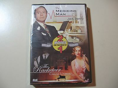 Medicine Man/Racketeer (DVD, 2006) Brand New and Sealed