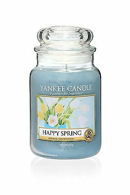 Yankee Candle Happy Spring 2017 Scented Large Jar Collectors Edition