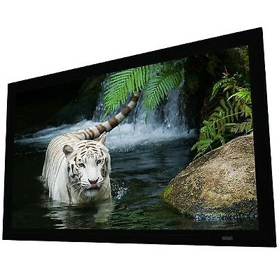 """Elunevision 115"""" Reference Fixed-Frame Projector Screen (EV EV-F3-115-1.0)"""