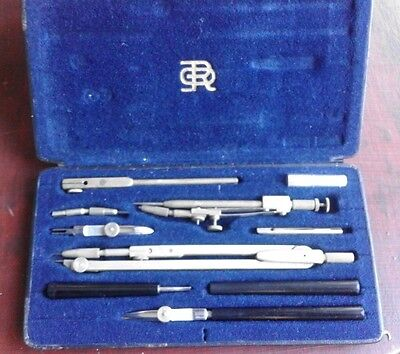 Vintage Richter & CO Precision  Drafting Tool SET Germany PVa