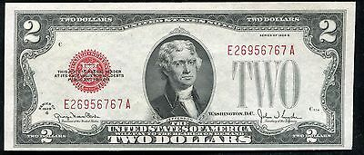 Fr. 1508 1928-G $2 Red Seal Legal Tender United States Note Uncirculated