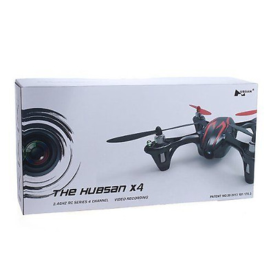 The Hubsan X4 2.4Ghz 4 Channel RC Mini Drone Quadcopter Video Camera RED/BLACK
