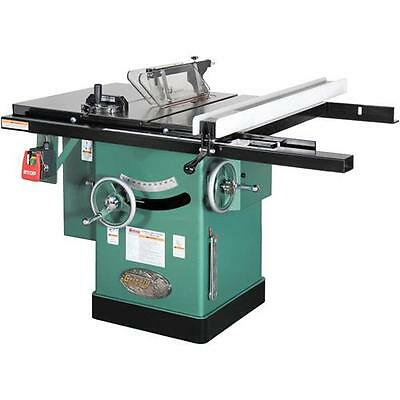 """G1023RL Grizzly 10"""" 3 HP 240V Cabinet Left-Tilting Table Saw"""