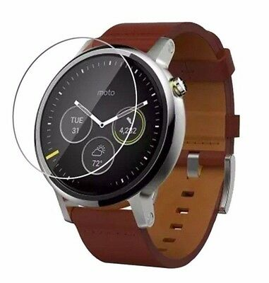 4x Screen Protector Full cover of the glass,Watch Motorola Moto 360 2nd gen 42mm
