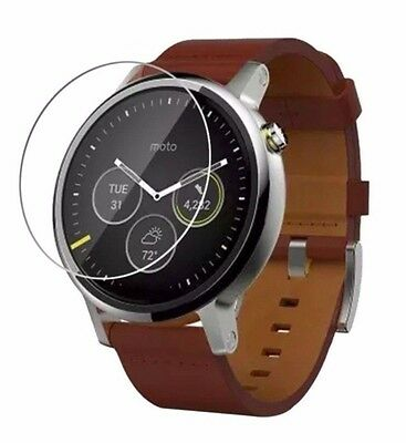 4x Screen Protector Full cover of the glass,Watch Motorola Moto 360 2nd gen 46mm