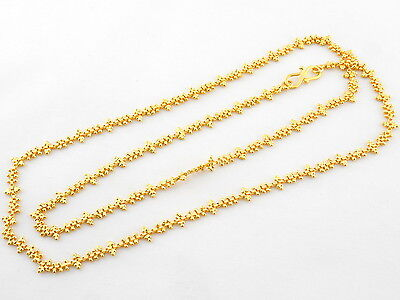 Indian Chain Ethnic Jewelry Neck Necklace Traditional Gold Plated Bollywood C38
