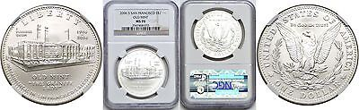 2006-S $1 Silver San Francisco Old Mint Commemorative Dollar NGC MS 70 #033