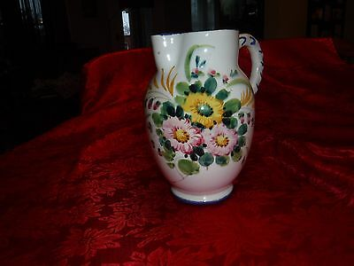 Vintage  Water Pitcher Made In Italy
