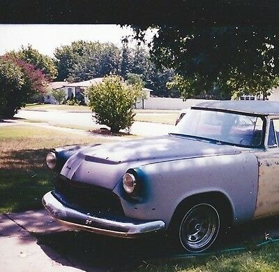 1956 dodge car front clip (inner/outer fenders, hood, core support).
