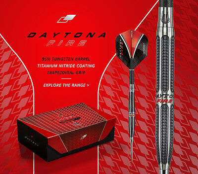 2017 Target Daytona Fire Df-03 26 Grams 95% Tungsten Darts..