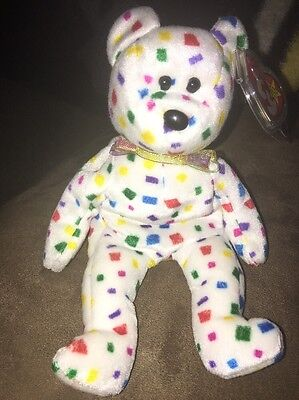 New Ty Rare & Retired Beanie Buddy Ty2K Beautiful Bear Buddie From My Collection