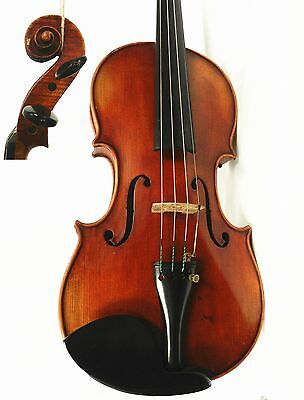 Old  Vintage German 4/4 Size Violin, labeled John Juzek Violin ,Ready to Play!