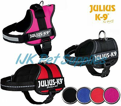 Julius K9 Power Harness  Reflective Adjustable Dog Puppy Harness Agility Flyball