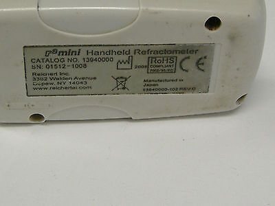 REICHERT BRIX 13940000 Refractometer, R 2 mini , used, in grea working condition