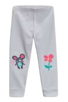 Next Girls sweet pea leggings joggers trousers Cat Mouse BNWT 3-6 Months