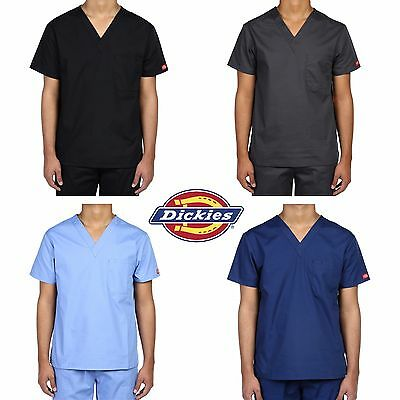Dickies EDS Unisex Medical Scrub V-Neck Top  (15 colors) 83706